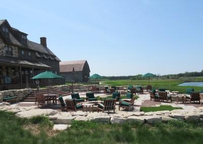 Erin Hills Golf Course Lodge Patio