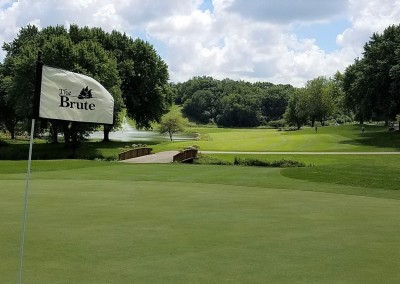 Grand Geneva Brute Course Hole 17 Flag