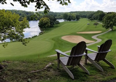 Grand Geneva Brute Course Hole 18 Lounge Chairs