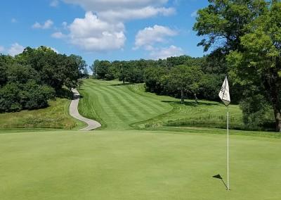Grand Geneva Brute Course Hole 3 Green