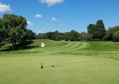 Grand Geneva Brute Course Hole 5 Green