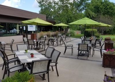 Grand Geneva Resort Clubhouse Patio Tables