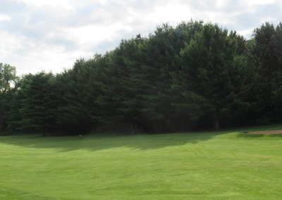 Baraboo Country Club Hole 12 Fairway Trees