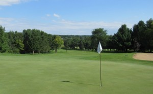Baraboo Country Club Hole 18 Green