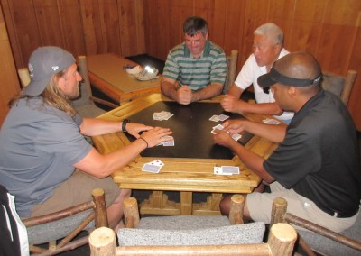 Blackwolf Run Clubhouse Locker Room Euchre Game