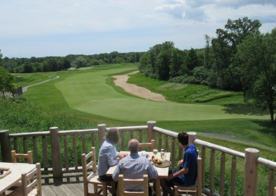 Blackwolf Run Clubhouse Terrace View