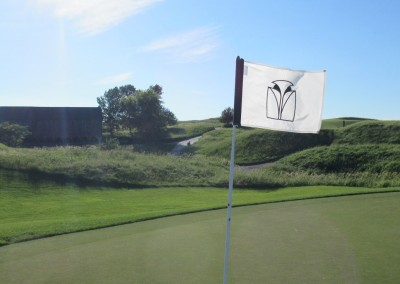 Blackwolf Run Meadow Valleys Course Hole 15 Flag