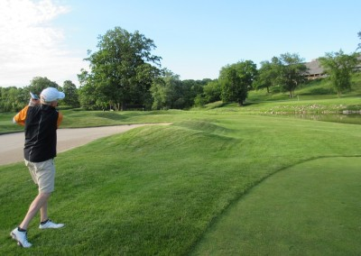Blackwolf Run Meadow Valleys Course Hole 18 Approach Dave Love