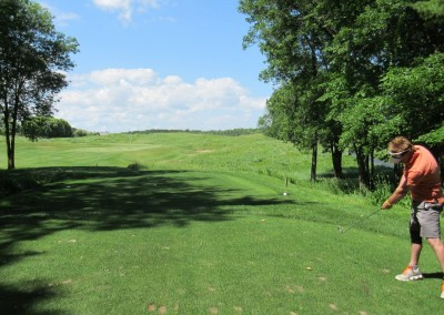 Blackwolf Run Meadow Valleys Course Hole 3 Tee Fred Berry