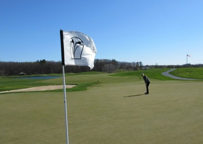 Blackwolf Run Meadow Valleys Spring Hole 1 Flag