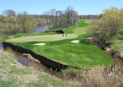 Blackwolf Run Meadow Valleys Spring Hole 14 Green Highest