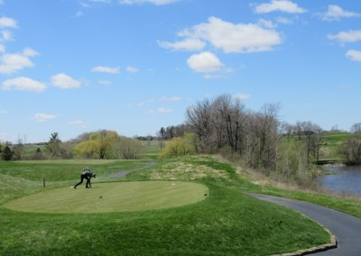 Blackwolf Run Meadow Valleys Spring Hole 14 Tee