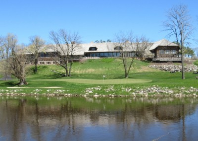 Blackwolf Run Meadow Valleys Spring Hole 18 Clubhouse