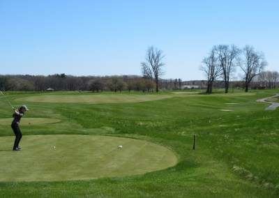 Blackwolf Run Meadow Valleys Spring Hole 5 Tee