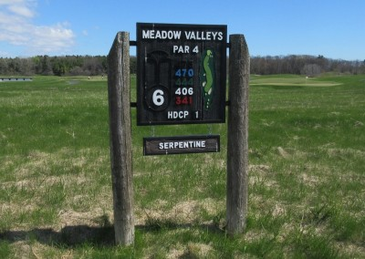 Blackwolf Run Meadow Valleys Spring Hole 6 Sign