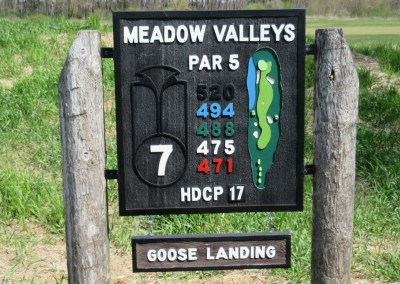 Blackwolf Run Meadow Valleys Spring Hole 7 Sign