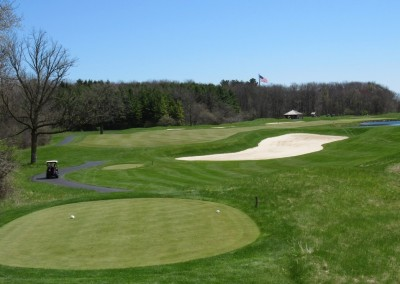 Blackwolf Run Meadow Valleys Spring Hole 9 Tee
