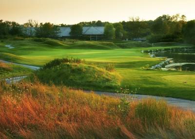 Blackwolf Run River Golf Course Hole 14 Blind Alley