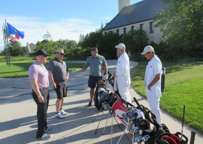 Whistling Straits Irish Course Caddies