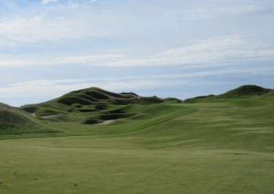 Whistling Straits Irish Course Hole 1 Approach