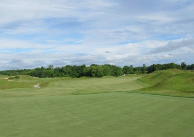Whistling Straits Irish Course Hole 1 Green