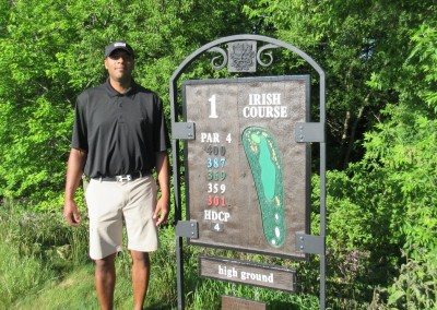 Whistling Straits Irish Course Hole 1 Sign
