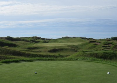 Whistling Straits Irish Course Hole 1 Tee