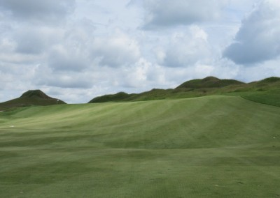 Whistling Straits Irish Course Hole 10 Approach