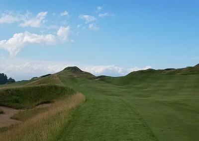 Whistling Straits Irish Course Hole 10 Approach Left