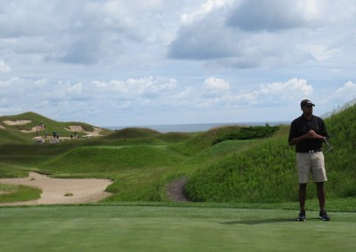 Whistling Straits Irish Course Hole 10 Green Eric Wills