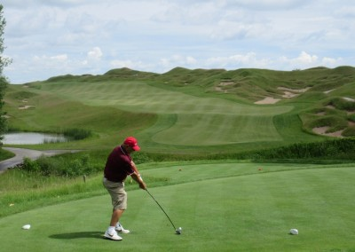 Whistling Straits Irish Course Hole 10 Tee Tom Herron