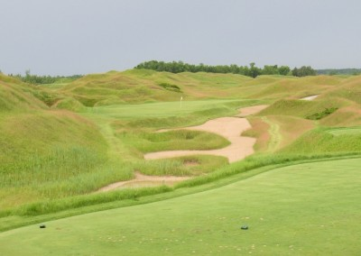 Whistling Straits Irish Course Hole 11 Middle Tees