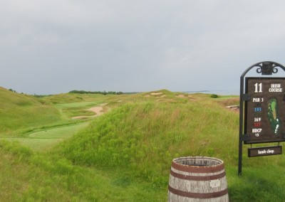 Whistling Straits Irish Course Hole 11 Sign
