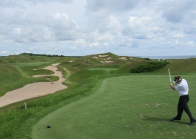 Whistling Straits Irish Course Hole 11 Tee Fred Berry