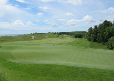 Whistling Straits Irish Course Hole 12 Green