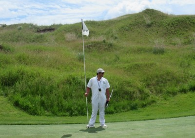 Whistling Straits Irish Course Hole 13 Flagstick