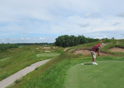 Whistling Straits Irish Course Hole 13 Tee Tom Herron