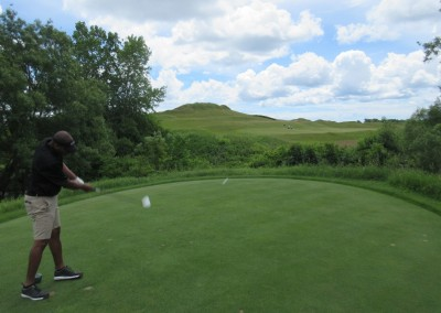 Whistling Straits Irish Course Hole 15 Tee Eric Wills
