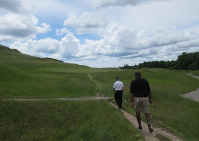 Whistling Straits Irish Course Hole 15 Walk