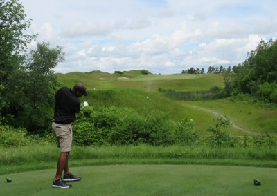 Whistling Straits Irish Course Hole 16 Tee Eric Wills