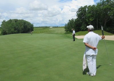 Whistling Straits Irish Course Hole 18 Monster Green