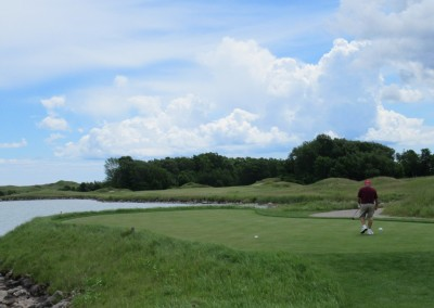 Whistling Straits Irish Course Hole 18 Tee