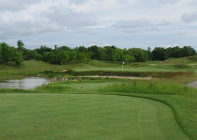 Whistling Straits Irish Course Hole 3 Tee