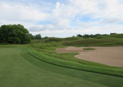 Whistling Straits Irish Course Hole 4 Bunker