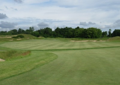 Whistling Straits Irish Course Hole 4 Fairway