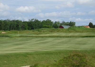 Whistling Straits Irish Course Hole 5 Second Shot