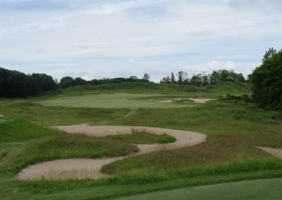 Whistling Straits Irish Course Hole 5 Tee Shot