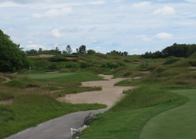 Whistling Straits Irish Course Hole 6 Tee