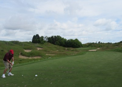 Whistling Straits Irish Course Hole 6 Tee Tom Herron