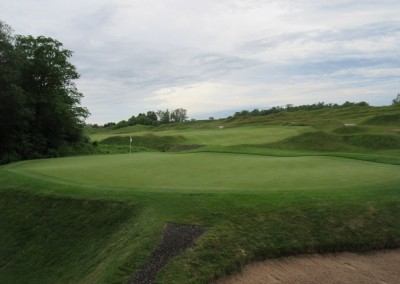 Whistling Straits Irish Course Hole 7 Green Long